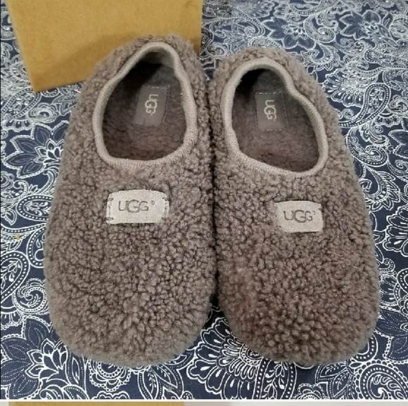 af526c8b61a UGG Women's Size 8 Grey 'Birche' Slippers